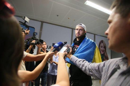 """Український баскетболіст Лень про людей в США: кажу: """"Україна"""", а вони мені у відповідь - """"Russia"""""""