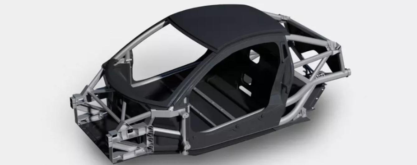 Дизайнер McLaren и F1 создал перспективный суперлегкий кузов-конструктор