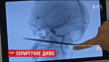 В США 30-сантиметровый шампур пробил мальчику голову
