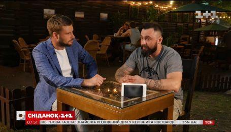 Как ветеран АТО Леонид Остальцев открыл собственный бизнес