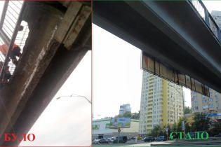 У Києві замінили пішоходні мости, які руйнувались на очах