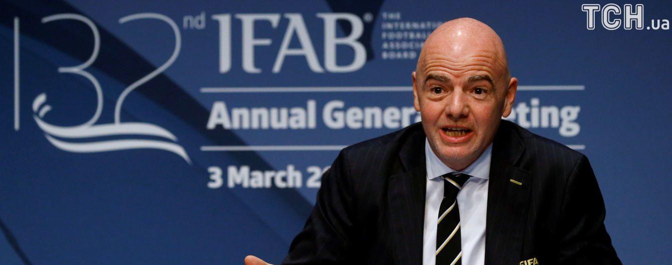 ФІФА прийняла рішення використовувавти систему відеоповторів на ЧС-2018