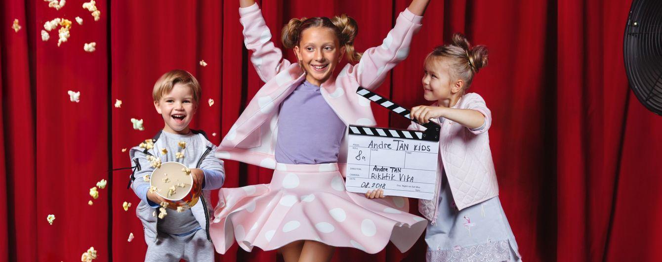 Спідниці та сукні з вишивкою: Андре Тан представив першу дитячу колекцію