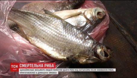 Смертельная рыба. По меньшей мере восемь человек умерли от ботулизма в этом году