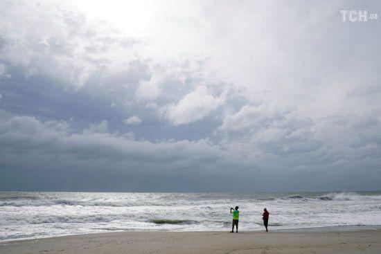 В очікуванні Флоренс: Reuters показало фото пустих пляжів Південної Кароліни перед штормом