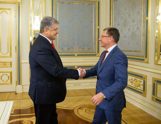 Порошенко прийняв у Києві Курта Волкера