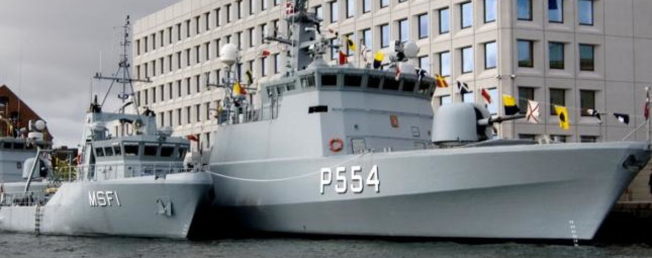 Данія може продати Україні кілька військових кораблів