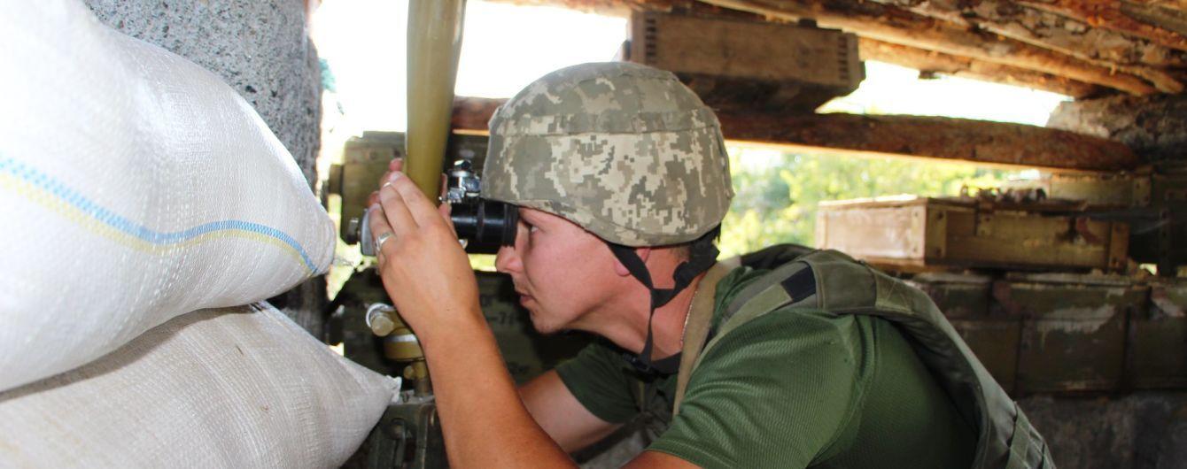 Бойовики здійснили майже 40 обстрілів, зокрема і по населеному пункту. Ситуація на Донбасі