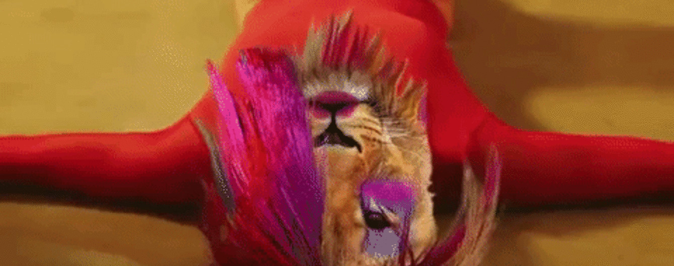 """Олег Скрипка з рожевим волоссям та у блискучому пальті запалив у новому кліпі """"ВВ"""" про """"кобіту"""""""