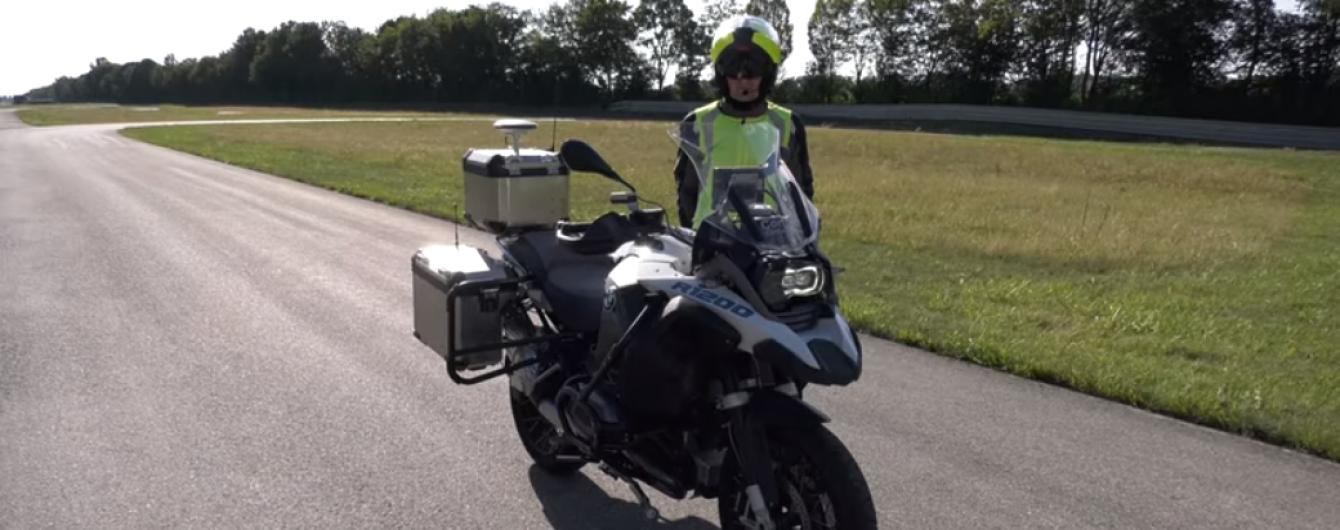 BMW создало беспилотный мотоцикл, но ограничит его интеллект