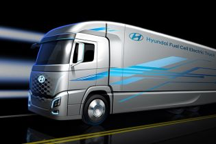 В Hyundai показали тизер водородного грузовика