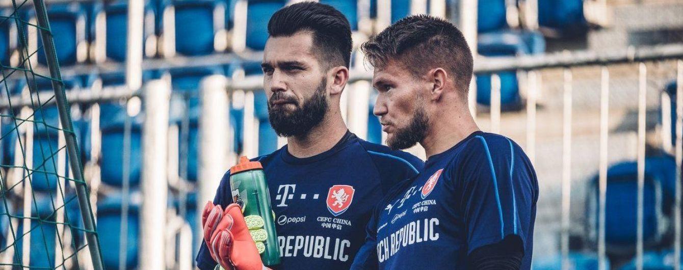 Вратарь сборной Чехии позавидовал Украине, потому что у нас есть Коноплянка и Ярмоленко
