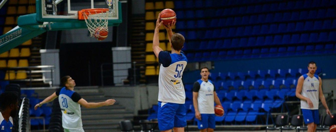 Сборная Украины по баскетболу объявила состав на матч отбора ЧМ-2019 против Испании