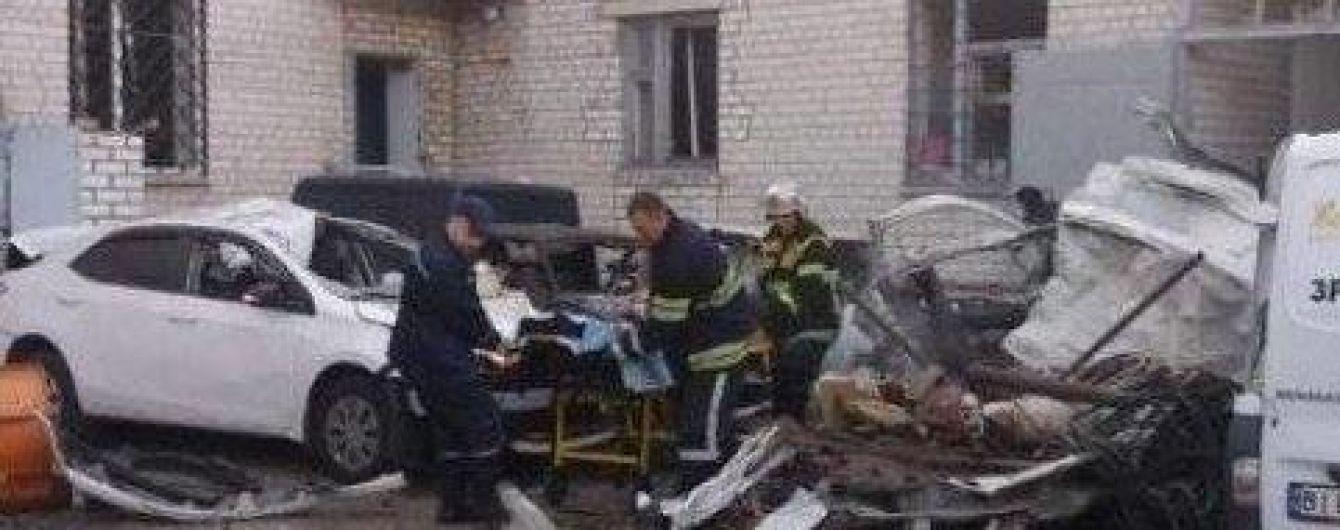 В Кременчуге взорвалось авто, водитель погиб
