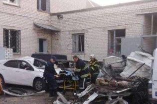 У Кременчуці вибухнуло авто, водій загинув