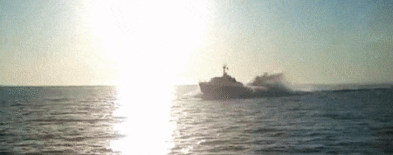Российские пограничники устроили провокацию в Азовском море