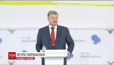 Петр Порошенко заявил, что будет идти на второй президентский срок
