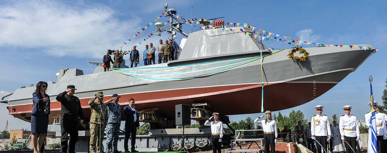 Український флот отримав новий десантно-штурмовий катер
