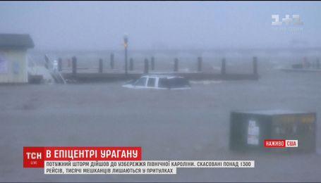 """Ураган """"Флоренс"""": 620 тисяч осель у Північній Кароліні залишилися без зв'язку"""