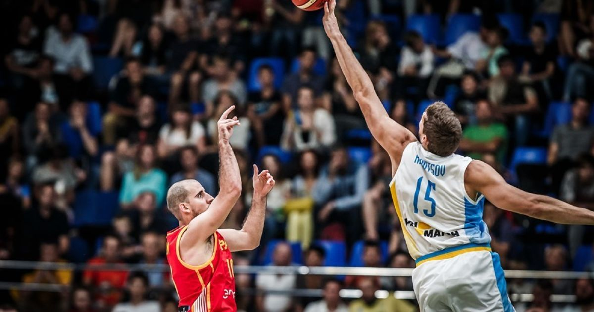 Отбор на ЧМ-2019. Украина - Испания - 76:65 @ Федерация баскетбола Украины