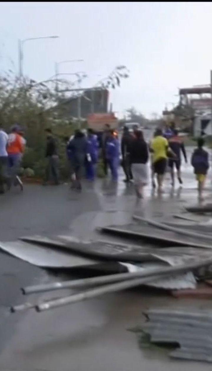 """Філіппінами пронісся надпотужний буревій """"Мангхут"""". Є загиблі та зниклі безвісти"""