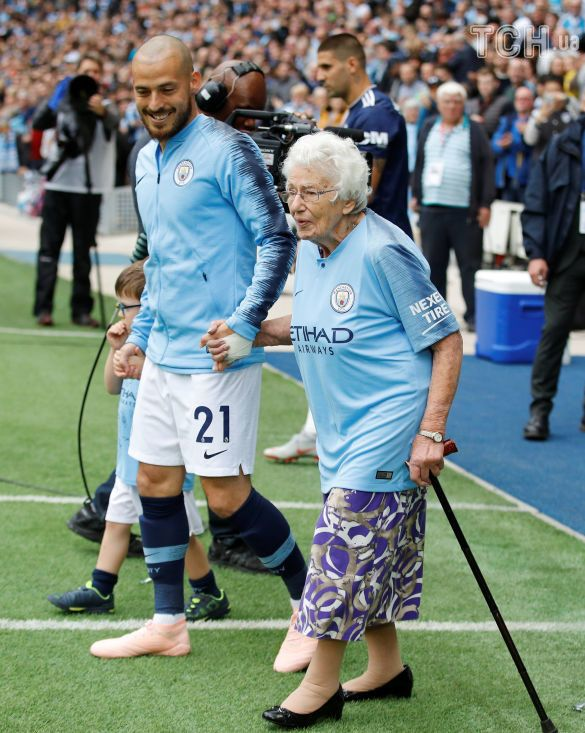 Манчестер сіті бабусі-фанатки