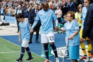 """Бабусі-вболівальниці вивели гравців """"Манчестер Сіті"""" на матч чемпіонату Англії"""