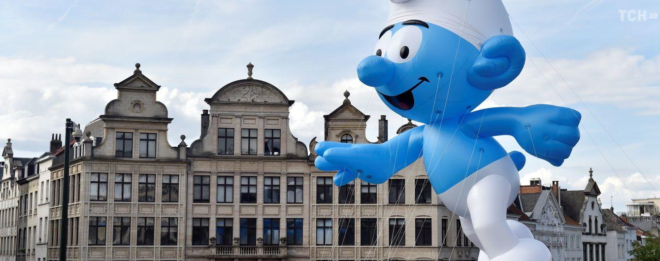 На улицах Брюсселя состоялся веселый фестиваль комиксов