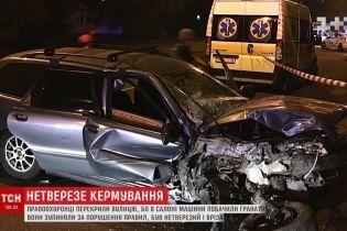 В Ровно пьяный водитель с гранатой убегал от полиции и попал в ДТП