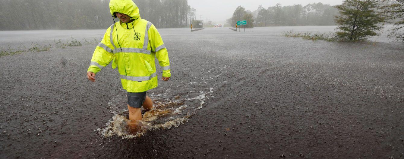 """Жизнь в эпицентре урагана """"Флоренс"""". Журналисты ТСН показали ужасы супертайфунов"""