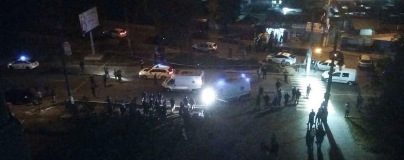 Прокуратура обнародовала видео момента смертельного ДТП с патрульным автомобилем в Черновцах