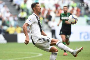 """Роналду отметился дебютным голом за """"Ювентус"""""""