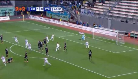 Заря – Динамо – 1:1. Видео гола Сидорчука