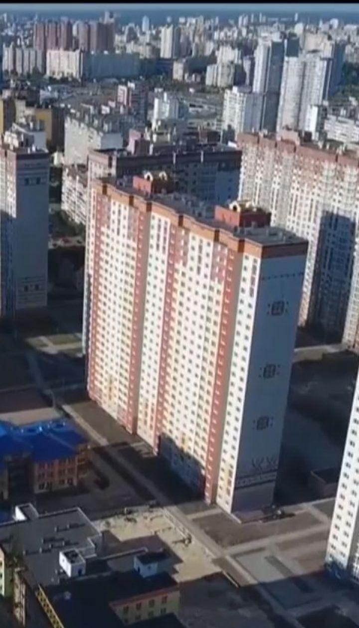 Украинские города массово заполняют некачественные новостройки