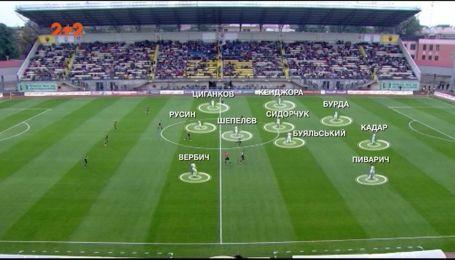 Зоря - Динамо - 1:1. Тактичний розбір матчу