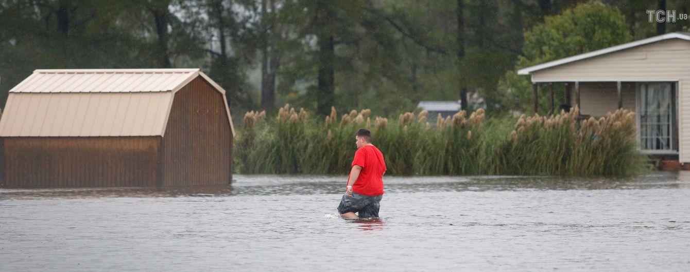 """У США назвали суму збитків від урагану """"Флоренс"""""""