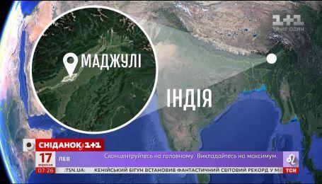 Житель Индии 40 лет высаживал деревья чтобы спасти остров Маджули от исчезновения