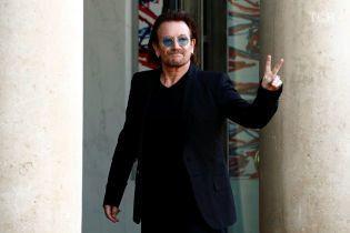 Соліст U2 Боно вперше відвідав Київ