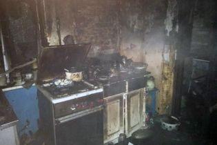 В Кривом Роге в пожаре погибла семья с маленьким ребенком