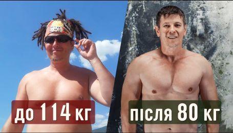 В`ячеслав Крик розповів, як він схуднув на 30 кілограмів