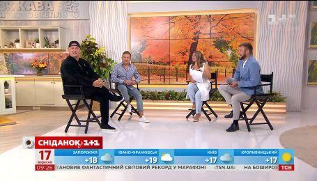"""Юрий Горбунов и Потап рассказали, как снимали """"Скажене весілля"""" и о дуэте с Винником"""
