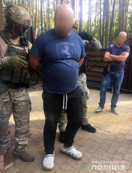 На Київщині ліквідували банду колишніх спортсменів та кримінальників, які займалися рекетом