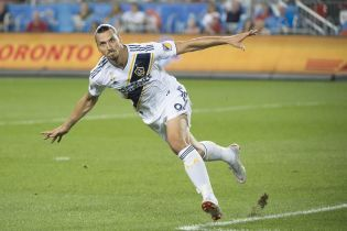 """Дебютний гол Ібрагімовича за """"Лос-Анджелес Гелаксі"""" став найкрасивішим у сезоні MLS"""