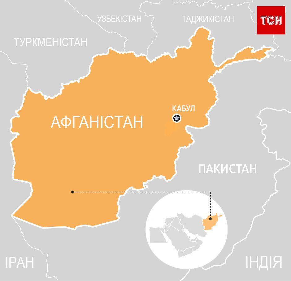 Афганістан, пінбокс