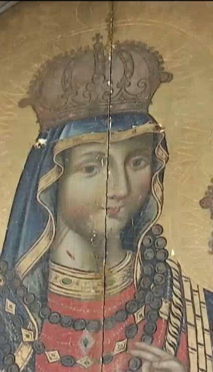 На Волыни нашли старинную икону, которую якобы реставрировал Тарас Шевченко