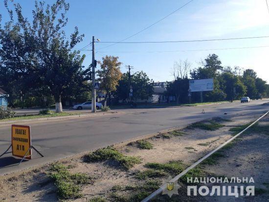 У Миколаєві водій, який збив дитину на переході, сам здався поліції
