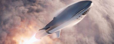Маск оприлюднив фото ракети-носія, яка здійснить подорож навколо Місяця