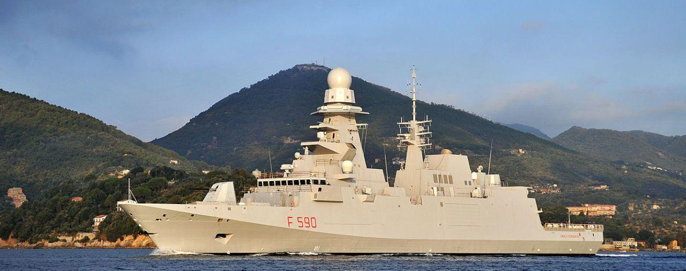 В Минобороны РФ утверждают, что французский фрегат выпустил ракеты вмомент исчезновения российского Ил-20