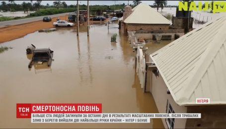 В Нигерии из берегов вышли две крупнейшие в западной Африке реки