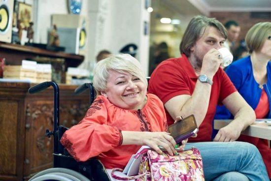 Померла українська уповноважена з прав людей з інвалідністю
